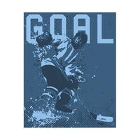 Hockey Goal - Blue