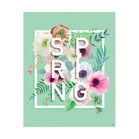 Green Spring Geranium