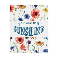 You Are My Sunshine - White