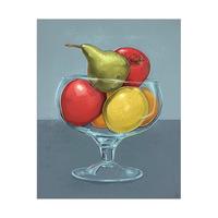 Fruit Still Life on Slate