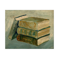 Vintage Rustic Books Alpha