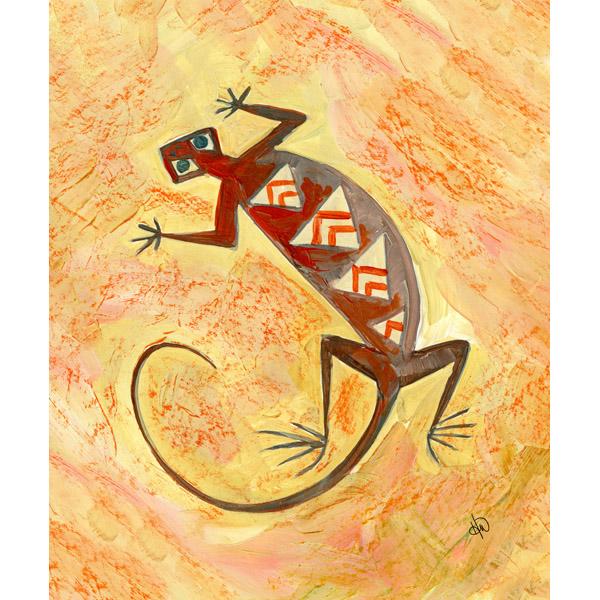 Tribal Lizard Alpha