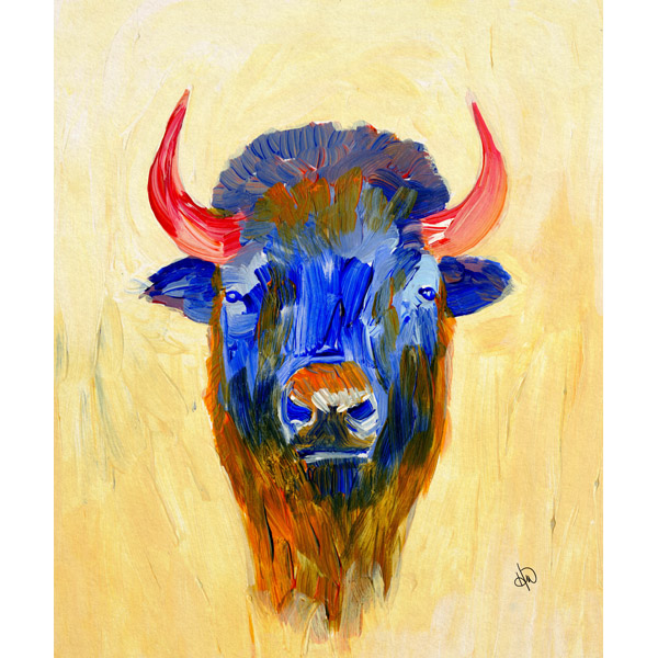 Colorful Buffalo Alpha