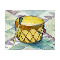 Pueblo Drum Alpha