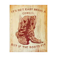 It's Not Easy Being a Cowgirl