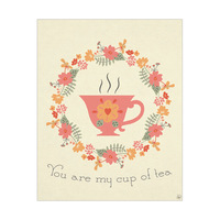 My Cup of Tea - Red