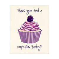 Cupcake Today? (purple)