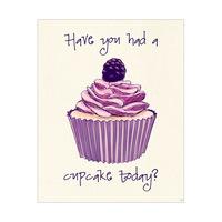 Cupcake Today? (purple)