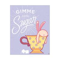 Gimme Some Sugar - Lavender Bunny