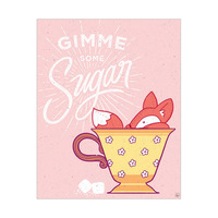 Gimme Some Sugar - Pink Fox