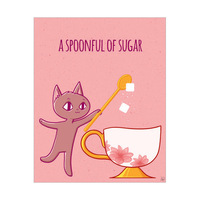 A Spoonful of Sugar - Kitty BG Pink