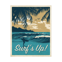 Surf's Up Warm Gold
