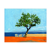 Sea Coast Tree