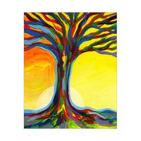 Tree and Sunset