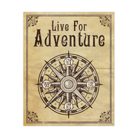 Live For Adventure Brown