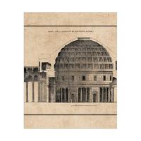 Pantheon Dome on Parchment
