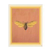 Flying Cicada - Orange