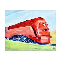 Red Steamliner Alpha