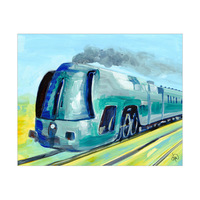 High Speed Train Alpha