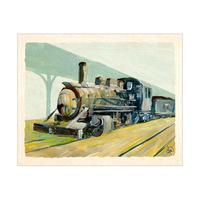 Old Steam Train Alpha
