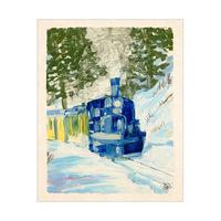Winter Train Alpha