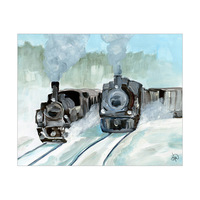 Polar Express And Snowman Jr. Alpha