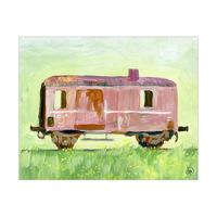 Old Train Car Alpha