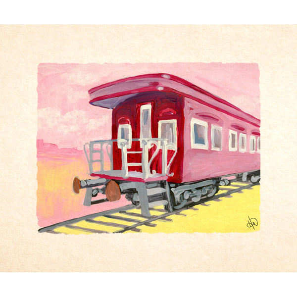 Whistle Stop Train Alpha