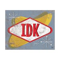 IDK Sign Alpha