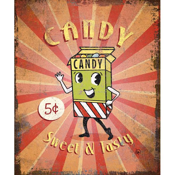 Candy Sign Alpha