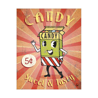 Candy Sign Alpha