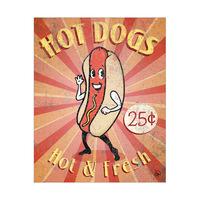 Hot Dog Sign Alpha