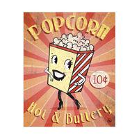 Popcorn Sign Alpha