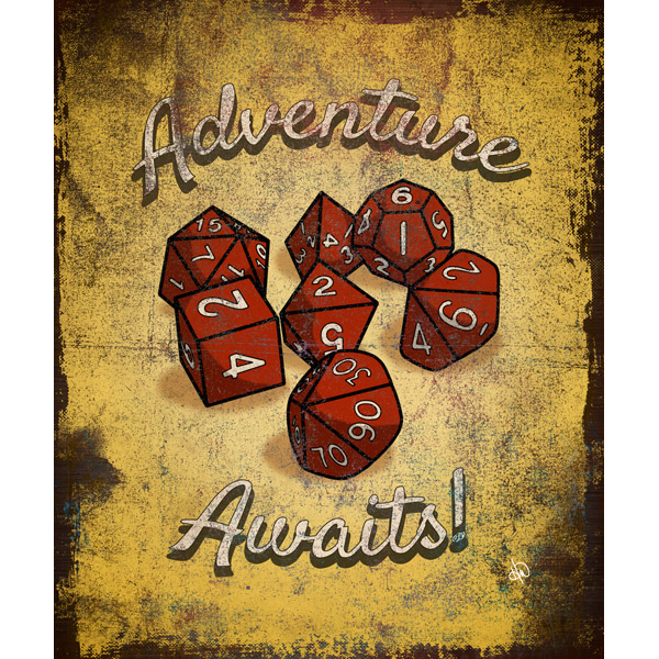 Adventure Awaits Dice Alpha