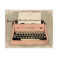 WHPH Typewriter Pink
