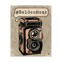 GoldenHour Camera Pink
