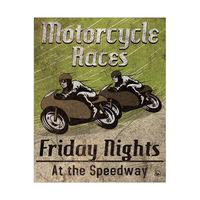 Moto Races Green
