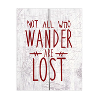 Not All Who Wander White