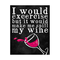 Exercise and Wine