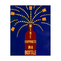 Happiness in a Bottle - Cobalt