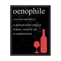 Oenophile Definition - Red