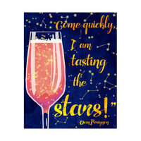 Tasting the Stars - Gold Strawberry and Blue