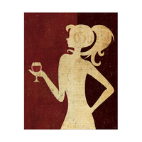 Woman of Wine - Red