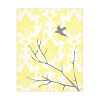 Bird Flying - Design Yellow