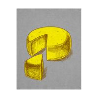 Cheese Wheel  - Yellow