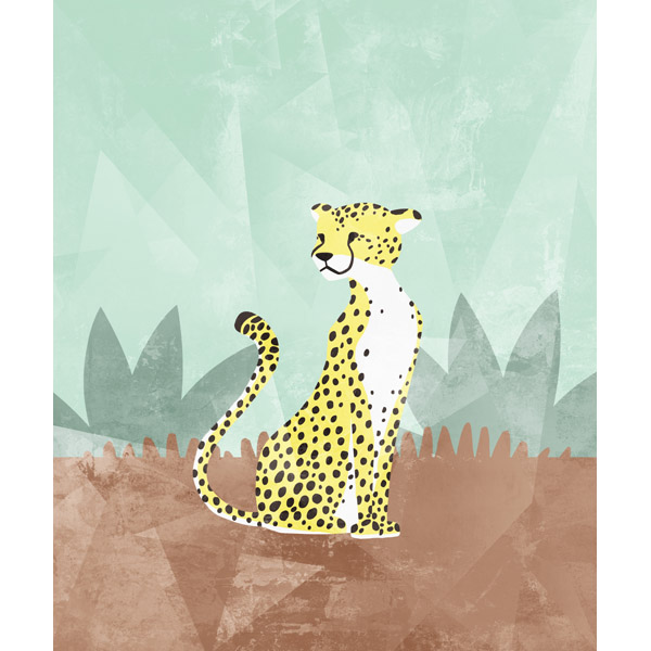 Cartoon Cheetah