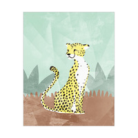 Cartoon Cheetah