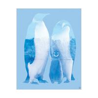 Antarctica Penguin - Blue
