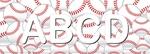Baseball (3/4_Letters)