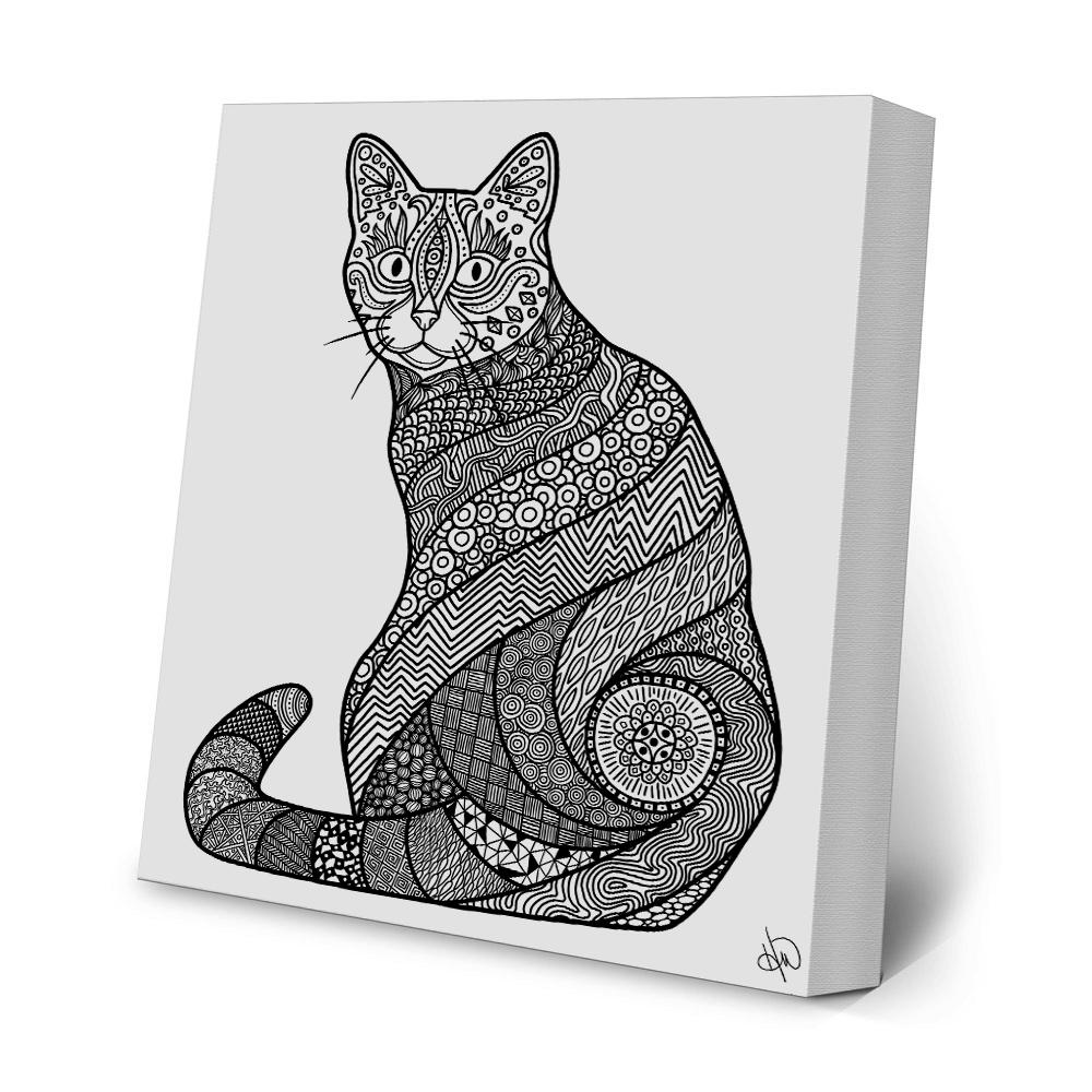 Coloring Print - Before